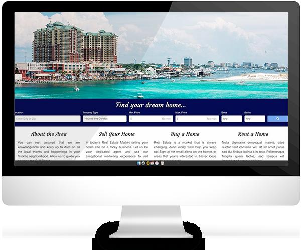 real estate website for peter burke